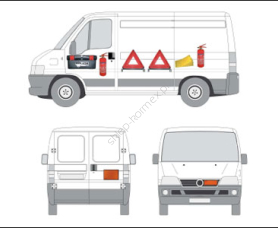Equipment for vehiCles up to 3.5 tonnes gvW