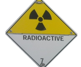Tablica RADIOACTIVE kl.7 łamana